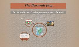 The Burundi flag