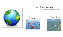 Copy of Van Water naar Watt