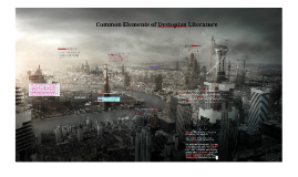 Copy of Common elements of dystopian literature