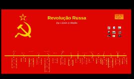 Revolução Russa: De Lenin à Stalin