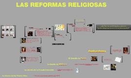 Las REFORMAS RELIGIOSAS