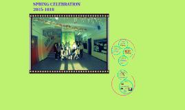 SPRING CELEBRATION 2015-18