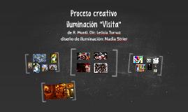 Proceso creativo VISITA