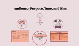 Audience, Purpose, Tone, Bias 976