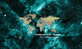 Vocabulaire de Voyage