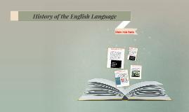 History of the English LanguageA short history of the origi