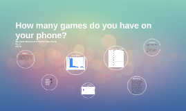 How many games do you have on your phone?