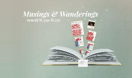 Musings & Wanderings