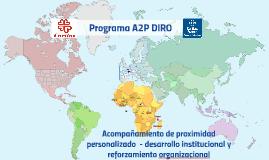 Presentación Cáritas española A2PDIRO