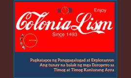 Copy of Kolonyalismo at Imperyalismo sa Timog at Timog-Kanlurang Asya