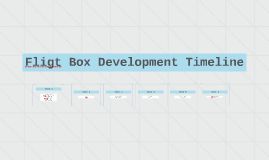 Fligt Box Development Timeline