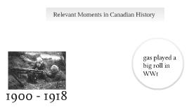 History Summative era time line