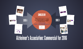 Alzheimer's Association: Commercial for 2016