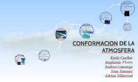 CONFORMACION DE LA ATMOSFERA