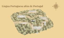 Língua Portuguesa além de Portugal