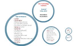 SAC: Presentation on IT Conference