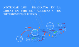 Copy of CONTROLAR LOS  PRODUCTOS EN LA CADENA EN FRIO DE  ACUERDO A