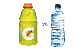 What Is Better Water Or Gatorade 45
