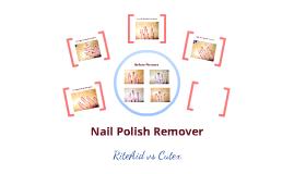 Science Investigation: Nail Polish Remover