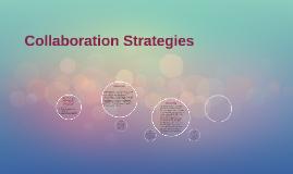Collaboration Strategies