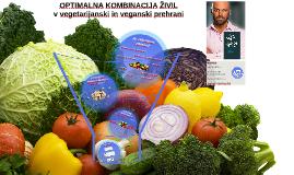 Optimalna kombinacija živil v vegetarijanski in veganski prehrani