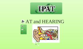 AT and HEARING training