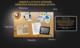 UNESCO LATVIJAS DĀRGUMI