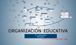 ORGANIZACIÓN EDUCATIVA