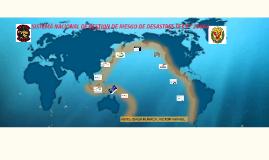 SISTEMA NACIONAL DE GESTION DE RIESGO DE DESASTRES LEY N°296