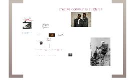 Creative community builders II