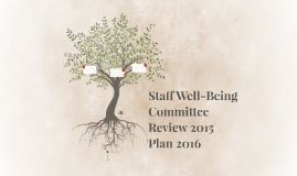 Staff Well-Being Committee