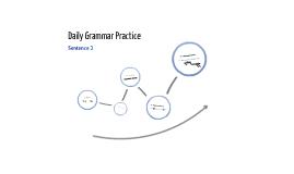 Daily Grammar Practice: Sentence 2