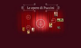Le opere di Puccini