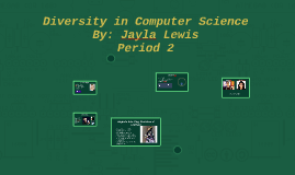Diversity in Computer Science