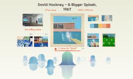 David Hockney - A Bigger Splash, 1967