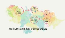 PUBLICIDAD EN VENEZUELA