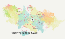 Written Code of Laws