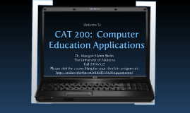CAT 200 Introduction - Fall 2016