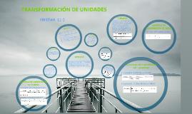 TRANSFORMACION DE UNIDADES