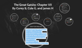 Great Gatsby: Chapter VII