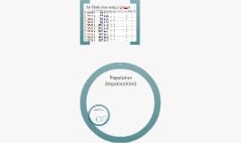 Population, case and observation