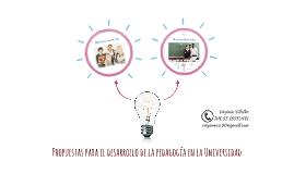Propuestas para el desarrollo de la pedagogía en la Universi
