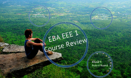 EBA EEE1 - Last Class