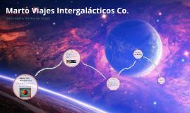 Marto Viajes Intergalacticos