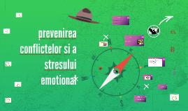 prevenirea conflictelor si a stresului emotional