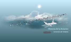Historia de la Aviacion comercial y de pasajeros