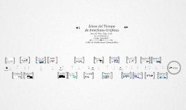 Linea de tiempo de Interfaces Graficas