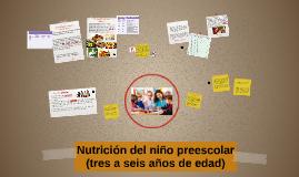 Alimentación en niños de 3 a 5 años.