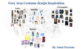 Grey Area Costume design Inspiration