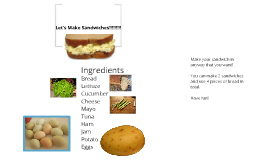 Let's Make Sandwiches!